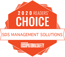 2020 Readers Choice Award for Best SDS Management Solutions