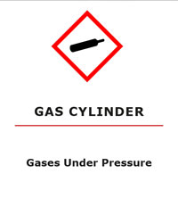 Gasses Under Pressure GHS Pictogram for WHMIS 2015