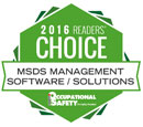 2016 Readers Choice Award for Best SDS Management Solutions
