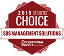 2019 Readers Choice Award for Best SDS Management Solutions